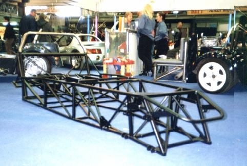 My chassis at the Stafford show